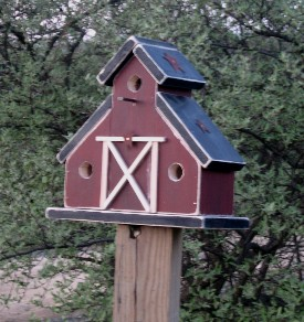 Barn style bird houses house design plans for Bird house styles