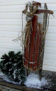 Christmas Primitives Amp Winter Decor Snowman With Lighted