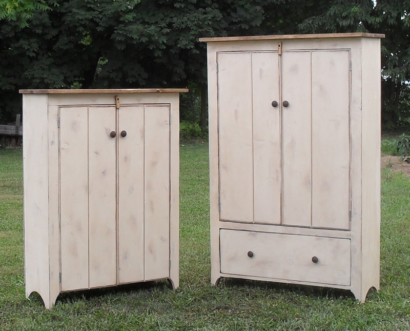 Primitive Country Cupboards, Primitive Wall CupboardJelly Cabinets,and More