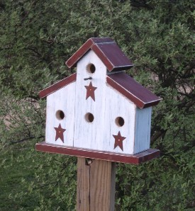 Birdhouses Pine Birdhouses Primitive Birdhouses Country